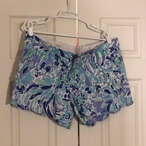 """Lilly Pulitzer Buttercup Knit Short 5"""""""